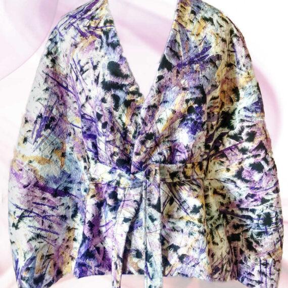 Capa chaqueta de lana Vanora