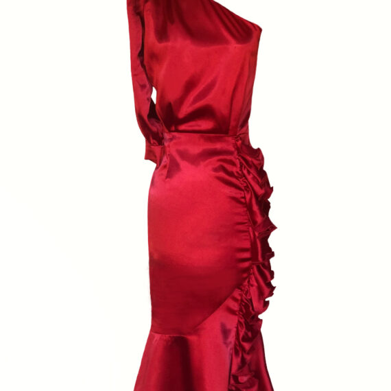 Vestido rojo Menna Spain