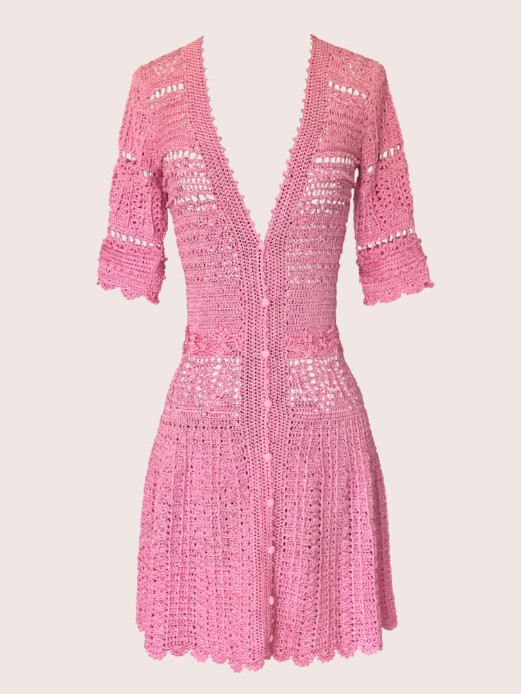 Vestido rosa Menna Spain®