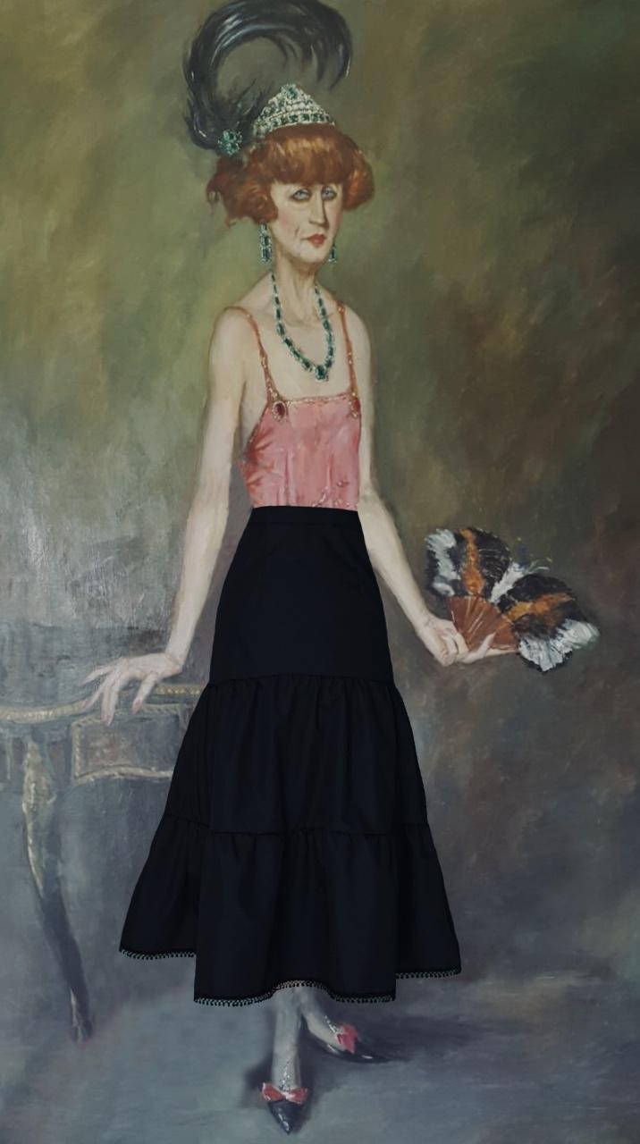 Amalia Dominica cuadro Menna Spain®