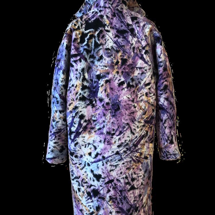 Abrigo lila 2020
