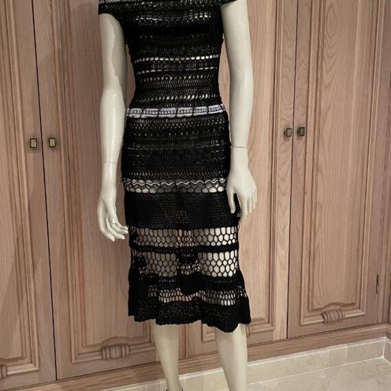 Vestido de hilo y cintas Menna Spain®