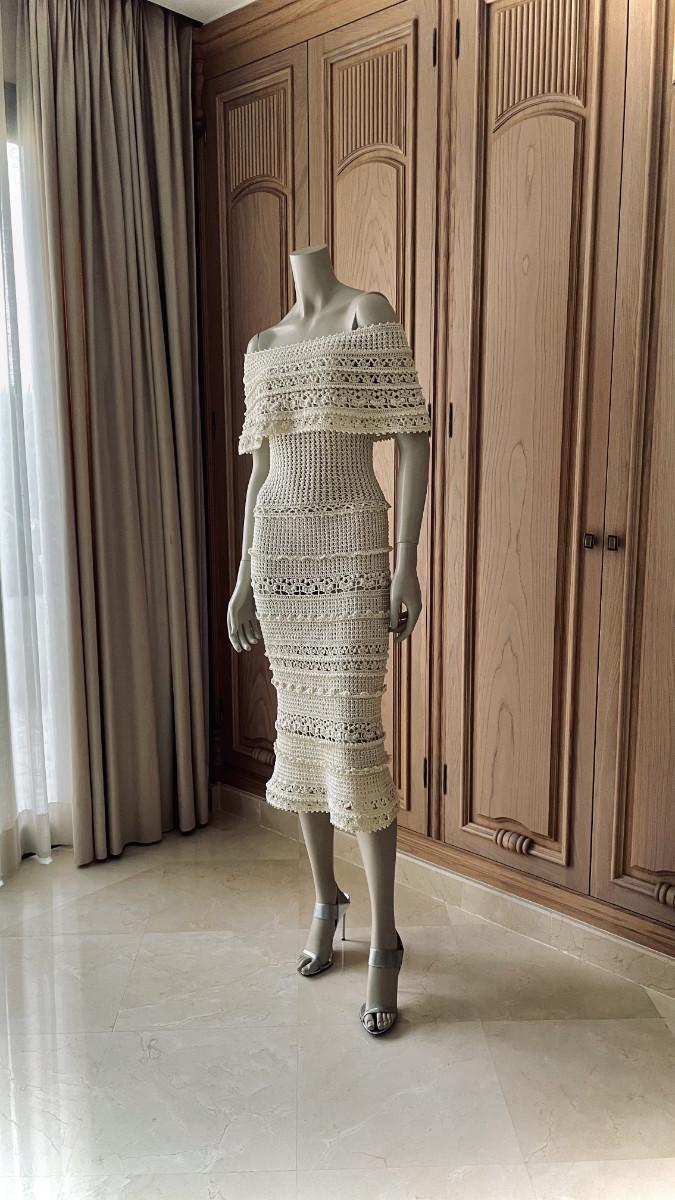 Vestido de crochet Menna Spain®